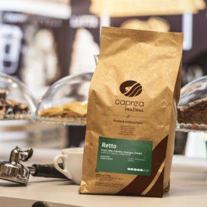 Zrnková káva Retto Caffe