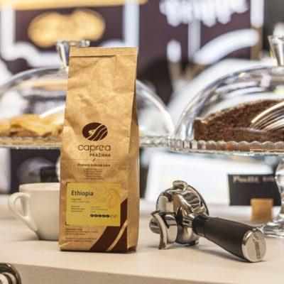 Zrnková káva Ethiopia Yirgacheffe