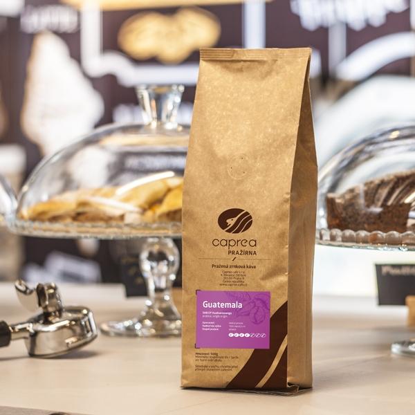 Zrnková káva Guatemala SHB EP Huehuetenango
