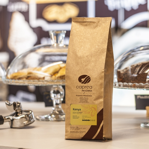 Zrnková káva Kenya AA Plus Top Top Masai