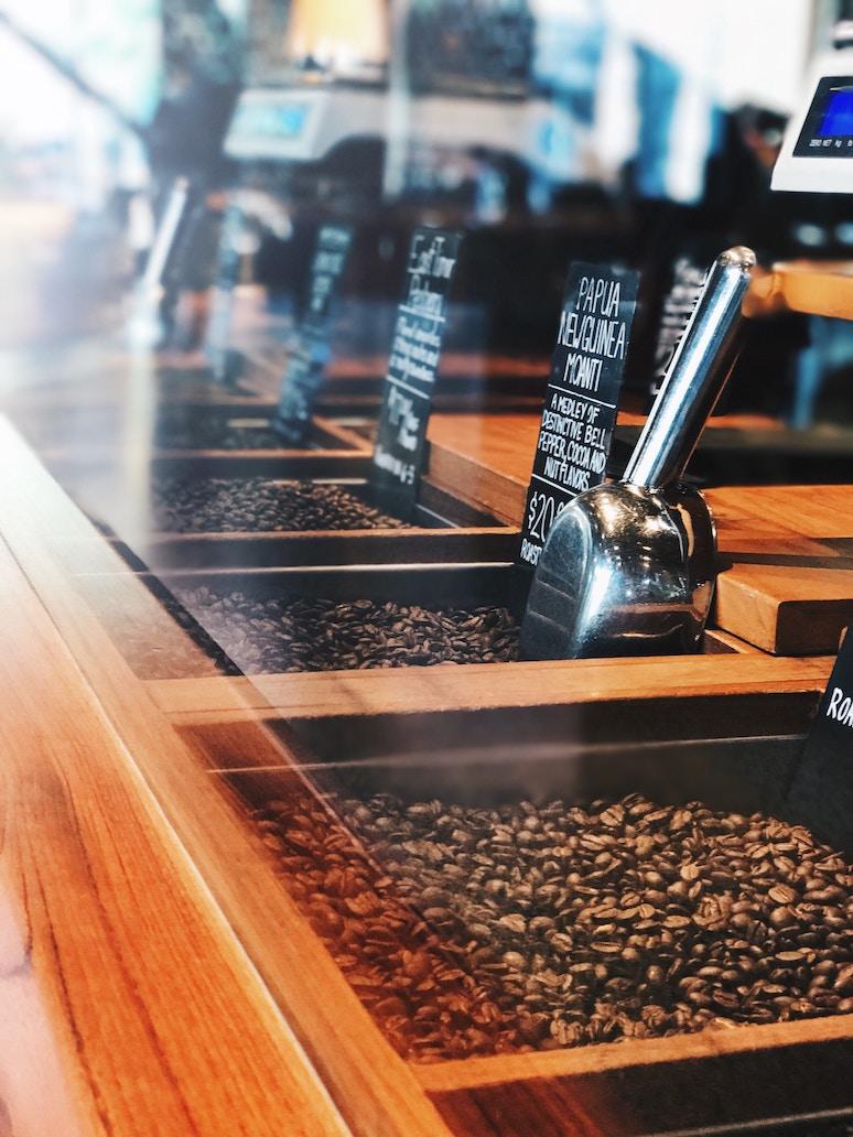 Sklizeň kávy