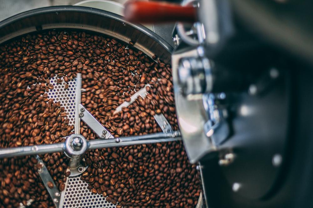 Pražení zrnkové kávy
