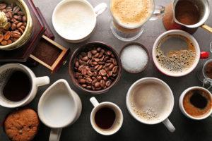 Přehled nejběžnějších kávových nápojů